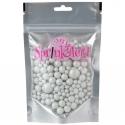 Sprinkletti White Bubbles Sprinkles 100g