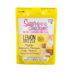 Sugar & Crumbs Lemon Drizzle Natural Flavoured Icing Sugar 250g