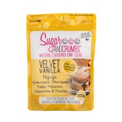 Sugar & Crumbs Velvet Vanilla Natural Flavoured Icing Sugar 500g