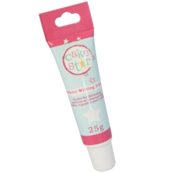 Cake Star Writing Icing White 25g Tube