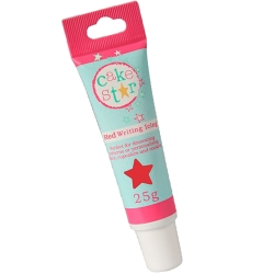 Cake Star Writing Icing Red 25g Tube