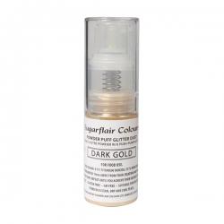 Sugarflair Dark Gold Powder Puff Pump Spray - 10g