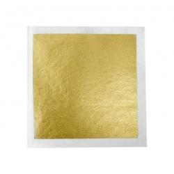 """Sugarflair 24 Carat Gold Leaf Square 3.25"""""""