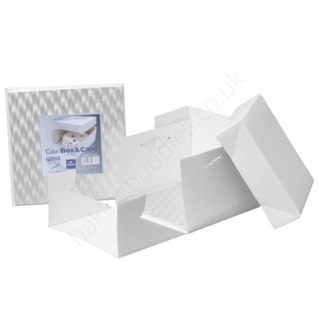"""12"""" SQUARE 3mm Board & Cake Box"""