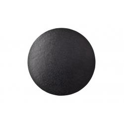 Black ROUND Cake Drum