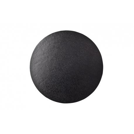 Black ROUND 12mm thick Cake Drum/Board