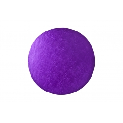 Purple ROUND Cake Drum