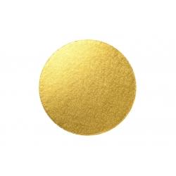 Gold ROUND Cake Drum