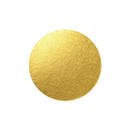 Gold ROUND 12mm thick Cake Drum/Board