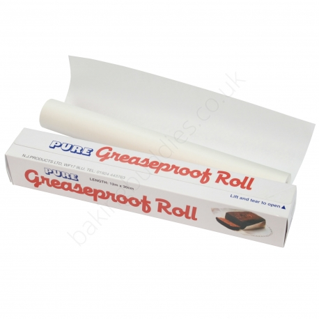 Greaseproof Roll 30cm x 12m