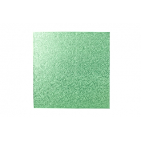 Pale Green SQUARE 12mm thick Cake Drum/Board