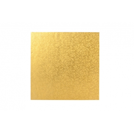 Gold SQUARE 12mm thick Cake Drum/Board
