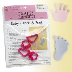Baby Hands & Feet Cutter Set - 4pc