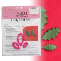 Holly Leaf Cutter Set - 3pc