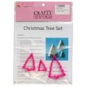 Christmas Tree Cutter Set - 3pc