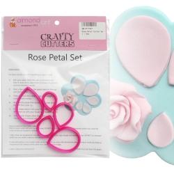 Rose Petal Cutter Set - 5pc