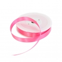 15mm Pink Double Sided Satin Ribbon - 25m Roll