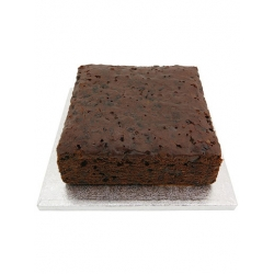 "Sweet Success 8"" Square Rich Fruit Cake"