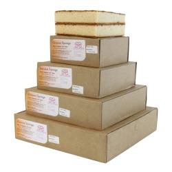 Sweet Success Square 2 Layer Genoese Sponge Cakes