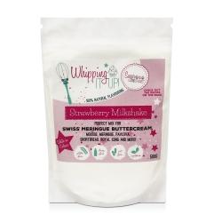Sugar & Crumbs Whipping It Up! - Strawberry Milkshake 500g