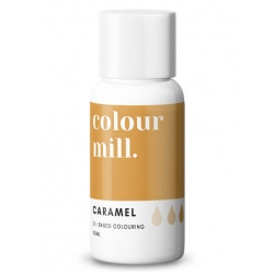 Colour Mill Caramel Oil Based Concentrated Icing Colouring 20ml