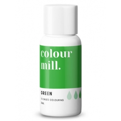 Colour Mill Green Oil Based Concentrated Icing Colouring 20ml