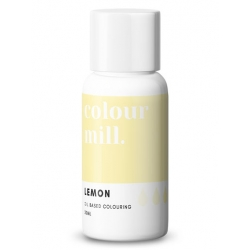 Colour Mill Lemon Oil Based Concentrated Icing Colouring 20ml