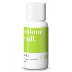 Colour Mill Lime Oil Based Concentrated Icing Colouring 20ml