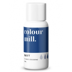 Colour Mill Navy Oil Based Concentrated Icing Colouring 20ml