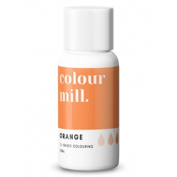Colour Mill Orange Oil Based Concentrated Icing Colouring 20ml