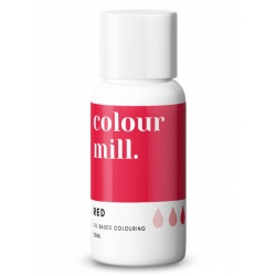 Colour Mill Red Oil Based Concentrated Icing Colouring 20ml