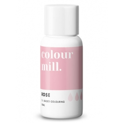 Colour Mill Rose Oil Based Concentrated Icing Colouring 20ml