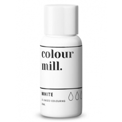 Colour Mill White Oil Based Concentrated Icing Colouring 20ml
