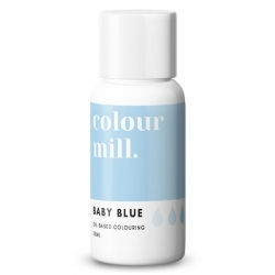 Colour Mill Baby Blue Oil Based Concentrated Icing Colouring 20ml