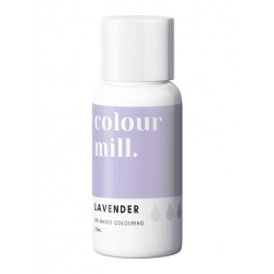 Colour Mill Lavender Oil Based Concentrated Icing Colouring 20ml
