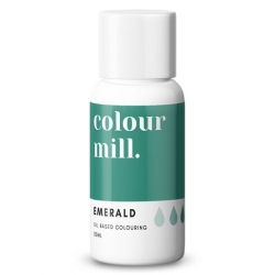 Colour Mill Emerald Oil Based Concentrated Icing Colouring 20ml