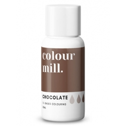 Colour Mill Chocolate Oil Based Concentrated Icing Colouring 20ml