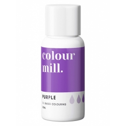 Colour Mill Purple Oil Based Concentrated Icing Colouring 20ml