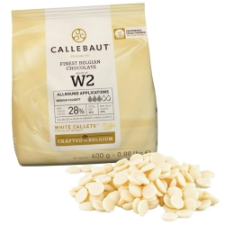 Callebaut Finest Belgian White Chocolate - 400g