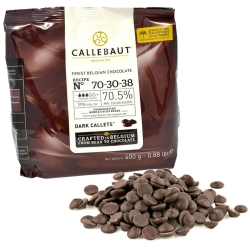 Callebaut Finest Belgian Dark Chocolate - 400g