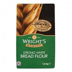 Wright's Baking Strong White Bread Flour - 1.5kg