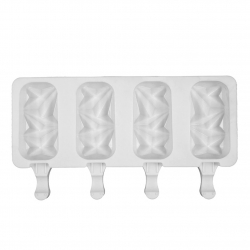 Gem Cakesicle / Ice Lolly Silicone Mould - 4 Impressions