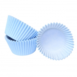 Baby blue Cupcake Cases