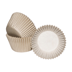 Ivory Cupcake Cases