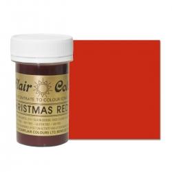 Sugarflair Christmas Red Paste Colour - 25g
