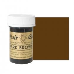 Sugarflair Dark Brown Paste Colour - 25g
