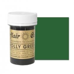 Sugarflair Holly Green Paste Colour - 25g