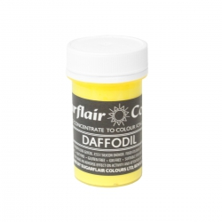 Sugarflair Daffodil Pastel Paste Colour - 25g