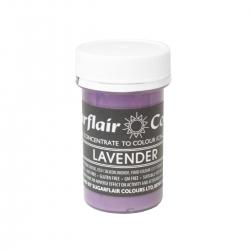 Sugarflair Lavender Pastel Paste Colour - 25g
