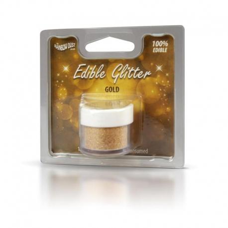 Rainbow Dust Gold Edible Glitter